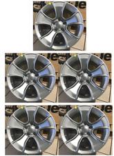 Jeep Wrangler JK JL New Cast Aluminum Wheel 17X8.5 Fine Silver set of 5 Mopar OE