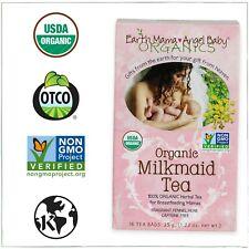 Earth Mama Angel Baby - Organic Milkmaid Tea, 16 Tea Bags,