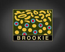 Lapel/Hat Pin Gift Wearable Art Brook Trout Art Fly Fishing Enamel