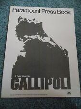 GALLIPOLI(1981)MEL GIBSON ORIGINAL PRESSBOOK