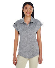Holloway Ladies Electrify 2.0 Polo Shirt 2Xl Granite Heather