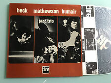 LP ITALIAN JAZZ Gordon Beck, Ron Mathewson, Daniel Humair ‎Beck Mathewson DIRE