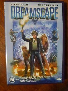 DREAMSCAPE - 1984 - DENNIS QUAID, MAX VON SYDOW, PAL, DVD VGC Not ex-rental