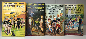 Lot Of 4 Of The Happy Hollisters Book Series by Jerry West