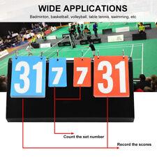 4-Digit Sports Portable Score Board Scoreboard for Table Tennis Basketball New