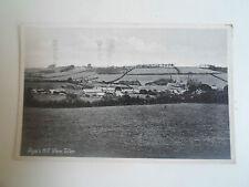 Vintage Postcard - Pope's Hill View, Toller, Dorchester Franked+Stamped 1943