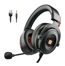 EKSA Xbox One Headset 2in1 USB&3.5MM Gaming Headset PS4 with 7.1 Surround PC