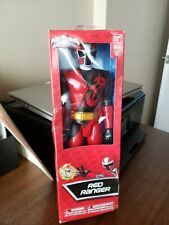 "Power rangers ninja steel red ranger 12"" action figure 2016"