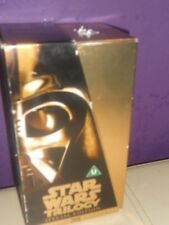 starwars vhs 3  videos  special trilogy  edition gold box