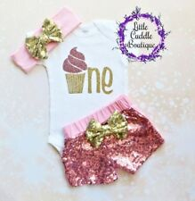 Cupcake First Birthday Outfit, Cupcake Birthday Shirt, Sweet One Birthday Party