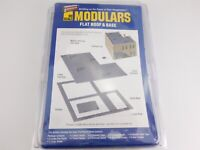 HO 1/87 Walthers Modulars 933-3721 Flat Roof & Base Building Parts SEALED Kit