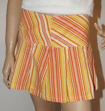 Orsay Rock Damen orange gestreift Damenrock kurz Sommer Größe 38 (1512B-PG2#)