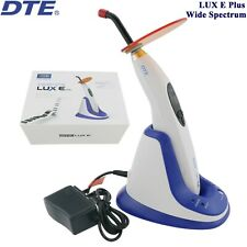 100% Woodpecker DTE Dental LED Curing Light Cure Lamp Wide Spectrum LUX E Plus