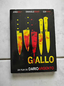 """DVD """"Giallo"""" de Dario Argento avec Adrian Brody Emmanuelle Seigner"""