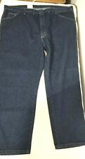 Wrangler Hero Men's Regular Fit Blue Jeans 48 x 29 New With Tags 96501MR