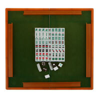 Mini Mah Jong Chinese Traditional Tiles Party Game Travel PlaySet Blue ML006
