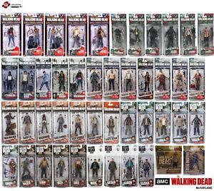 "Mcfarlane Walking Dead Series Action Figures 5"" Series BETH CARL T-DOG DARYL"