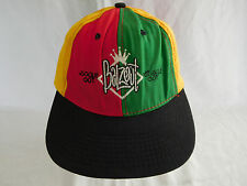 Vintage Balzout Souled Out Baseball Cap Hat Snapback Rasta Hip Hop 90s Red Green
