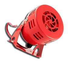 12V RED METAL BEEPER SIREN WARNING REVERSE ALARM TRUCK CAMPER CAR PICKUP VAN