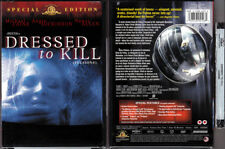 DVD Brian de Palma DRESSED TO KILL Michael Caine UNRATED+R-Rated Cdn R1 OOP NEW