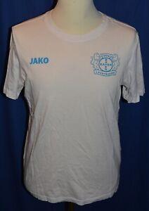 T-Shirt von Bayer 04 Leverkusen, Größe S, Weiß, von Jako