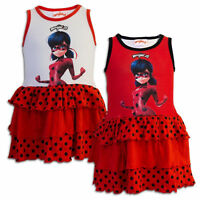 Girls Dress Miraculous Ladybug