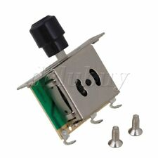 3-way Selector Electric Guitar Blade Switch W/ Black Cap