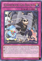Yu-Gi-Oh Card - LVAL-EN074 - GHOSTRICK-GO-ROUND (rare) - NM/Mint
