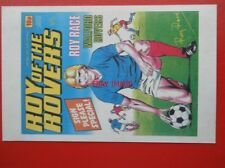 POSTCARD ROY OF THE ROVERS COMIC COVER 28 MAY 1983