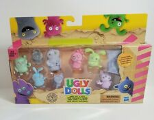 Hasbro 9 Mini Ugly Dolls Super Soft Fuzzy Collectables W/ Surprise Included