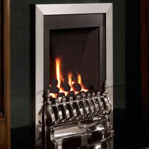 Flavel Windsor Gas Fire Traditional Silver FSRC3JMN UK Made 7 Year Warranty