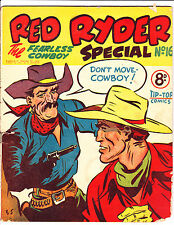 """Red Ryder Special No 16 1950's -Australian-"""" Don't Move Cowboy Cover ! """""""
