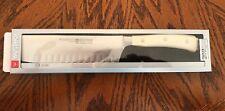 "Wusthof Classic Ikon Hollow Edge Nakiri 4187 17cm 7"" Knife Creme"
