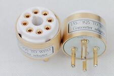 1pc Gold plated 1A5/1Q5 TO WD-11 tube converter adapter for you amp