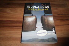 Nicola Förg -- MORD im BERGWALD // ein Alpen-Karwendel-Krimi