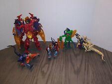 Transformers Beast Wars metal dragon and more lot takara vintage