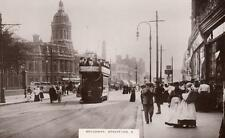 Broadway Stratford East Tram unused RP old pc Essex Photo pc Co
