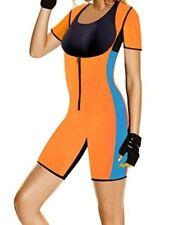 Sweat Shaper Neoprene Bodysuit Shapewear Sauna Suit Weight Loss Gym 1XL 2XL