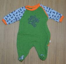 Fixoni Baby Boy Cotton Romper 56 cm Euro 0-3m Footed Monkey Bananas