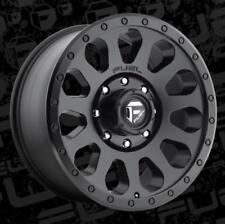 Fuel Vector D579 20x10 8x6.5 ET-18 Matte Black Rims (Set of 4)