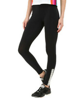 NO KA'OI Yoga & Life Black Leggings with Embroidery Women's Size 00 69913