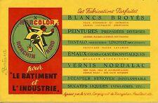 BUVARD / PUBLICITAIRE / PEINTURE BLANCS BROYES / NORCOLOR /