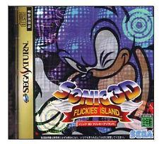 Sonic 3D SEGA Saturn SS Import Japan