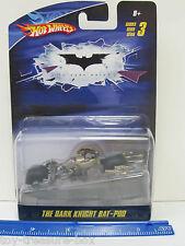 Hot Wheels Batman- THE DARK KNIGHT BAT-POD Vehicle from The Dark Knight -Age 8+
