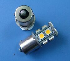 1x BA15S 1156 1141 SMD bulb 13-5050 SMD LED,Warm White, AC/DC 12~24V #13AZWW