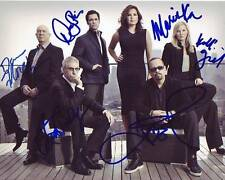 Law & Order: SVU Signed 8x10 Cast Photograph Mariska Hargitay Belzer Ice T + 3