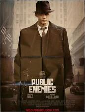 PUBLIC ENEMIES Affiche Cinéma / Movie Poster JOHNNY DEPP CHRISTIAN BALE