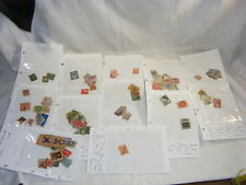 $100 + Cat. Value Foreign Stamps Off Paper