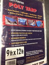 Polymax Multi-Purpose POLY TARP  9 x 12 Water resistant mildew proof