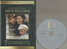 Life Is Beautiful (Dvd, 2011) Disc & Cover Art Only Roberto Benigni Wwii Jewish